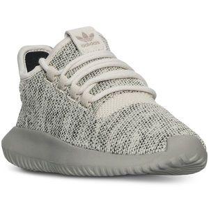 NEW Adidas Originals Big Boys Tubular Sneaker sz 5